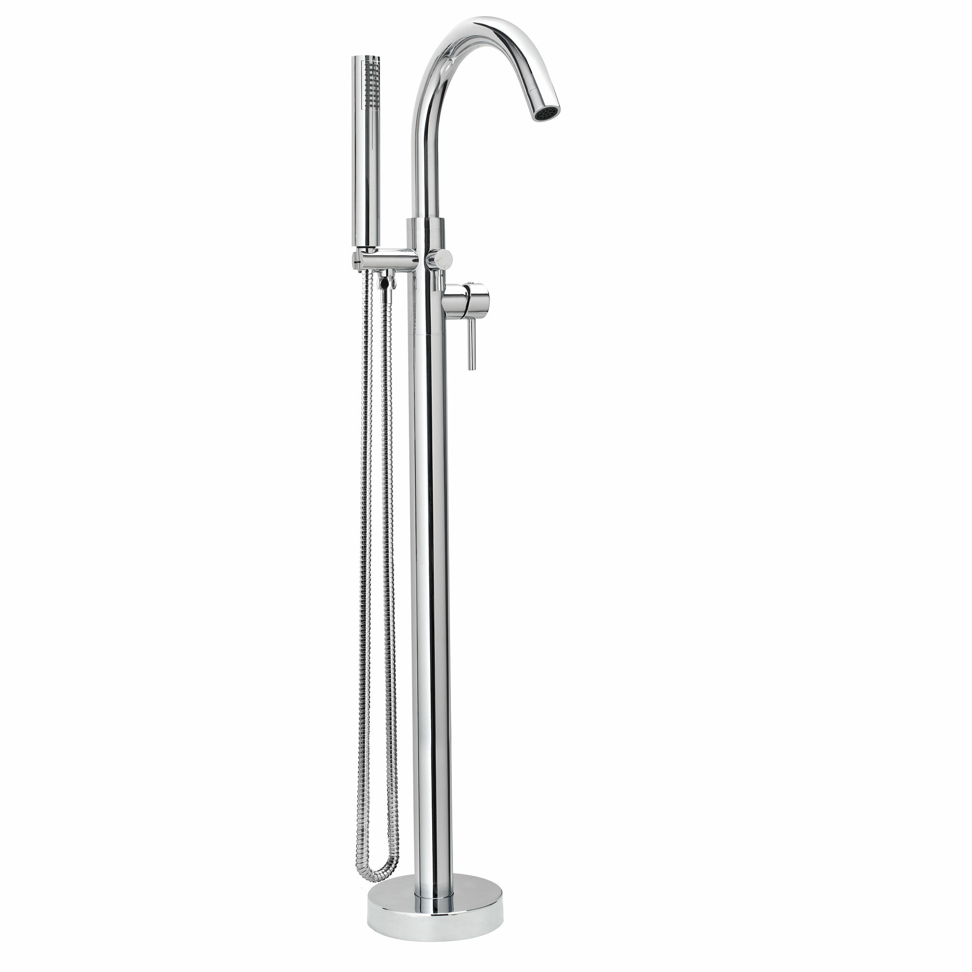 products delta valve cross tub filler mount stainless traditional faucet handle steel mounted and floor with metal hand finish includes shower spray