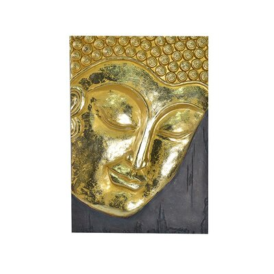 Asian Art Imports Hand Carved Buddha Wall Décor & Reviews | Wayfair