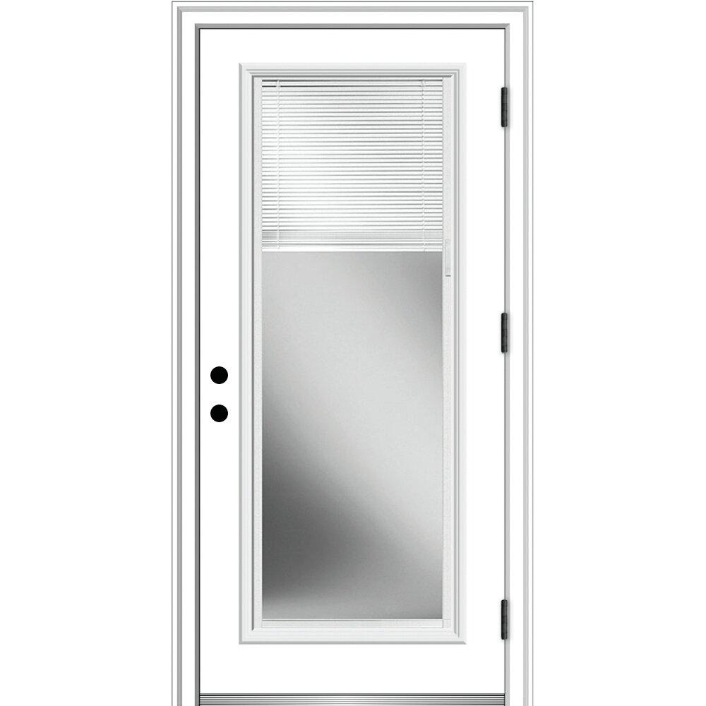 Blinds Exterior Doors You Ll Love In 2021 Wayfair
