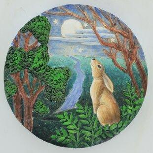 Viviana 2 Piece Moongazing Hare Plaque Stepping Stone Set Image