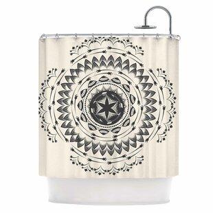 Tribe Mandala Single Shower Curtain