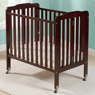 Big Oshi Angela Folding Portable Crib with Mattress by Baby Time International, Inc.