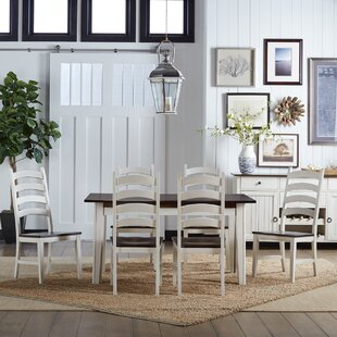 Tamiami 7 Piece Extendable Solid Wood Dining Set Beachcrest Home