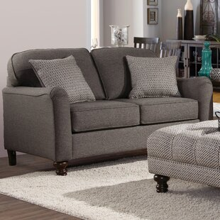 Reviews Serta Upholstery Bilbrook Loveseat by Three Posts Reviews (2019) & Buyer's Guide