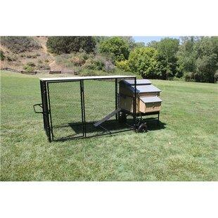 Mobile Urban Chicken Coop With Chicken Run By K9 Kennel