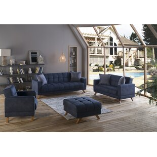 Savings Montana 3 Piece Living Room Set by Decor+ Reviews (2019) & Buyer's Guide