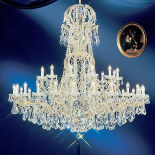 Classic Lighting Maria Thersea 37-Light Empire Chandelier