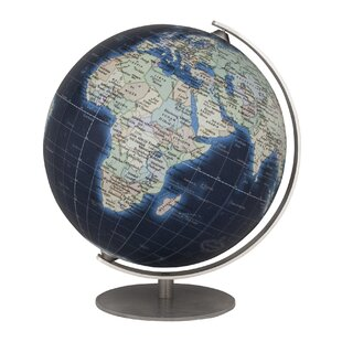 Globe accents youll love wayfair mini deep blue globe gumiabroncs Images