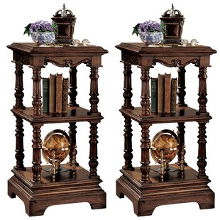 Lord Pimlicoe Etagere Bookcase (Set Of 2) by Design Toscano Herry Up