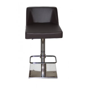 Oss Adjustable Height Swivel Bar Stool Oak Idea Imports