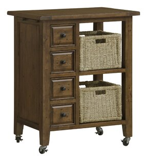 McAlester Kitchen Island Loon Peak