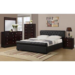 A&J Homes Studio Divonne Upholstered Platform Bed