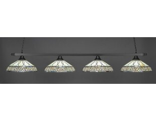 Red Barrel Studio Bigelow 4-Light Billiard Pendant