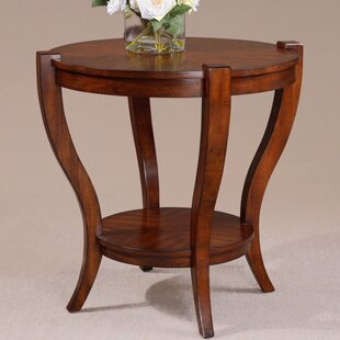 Best Review Burkhardt End Table by Darby Home Co