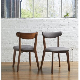 Clayborn Upholstered Dining Chair (Set of 2) Corrigan Studio