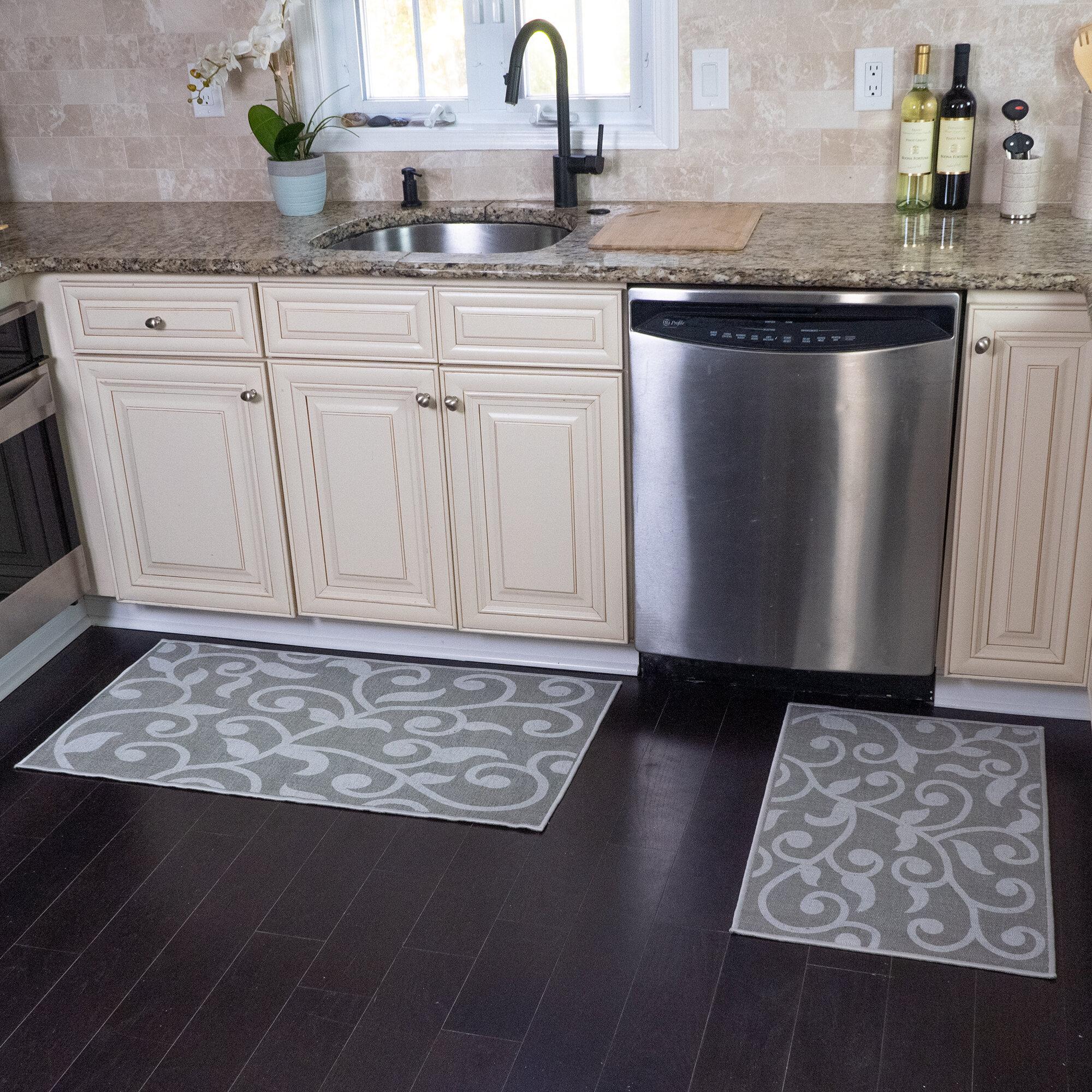 Red Barrel Studio Devkaran Multipurpose 2 Piece Kitchen Mat Reviews Wayfair