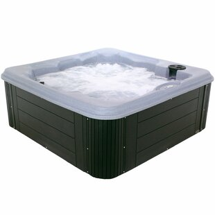 Essential Spas Andora 6-Person 40-Jet Spa with Lounger