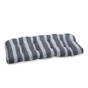 Haylee Wicker Indoor/Outdoor Loveseat/Sofa Cushion