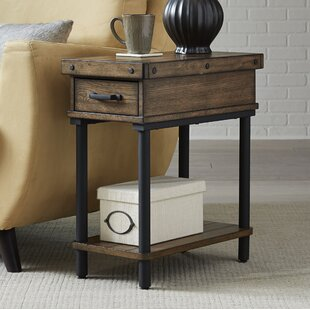 Rooney End Table with Storage