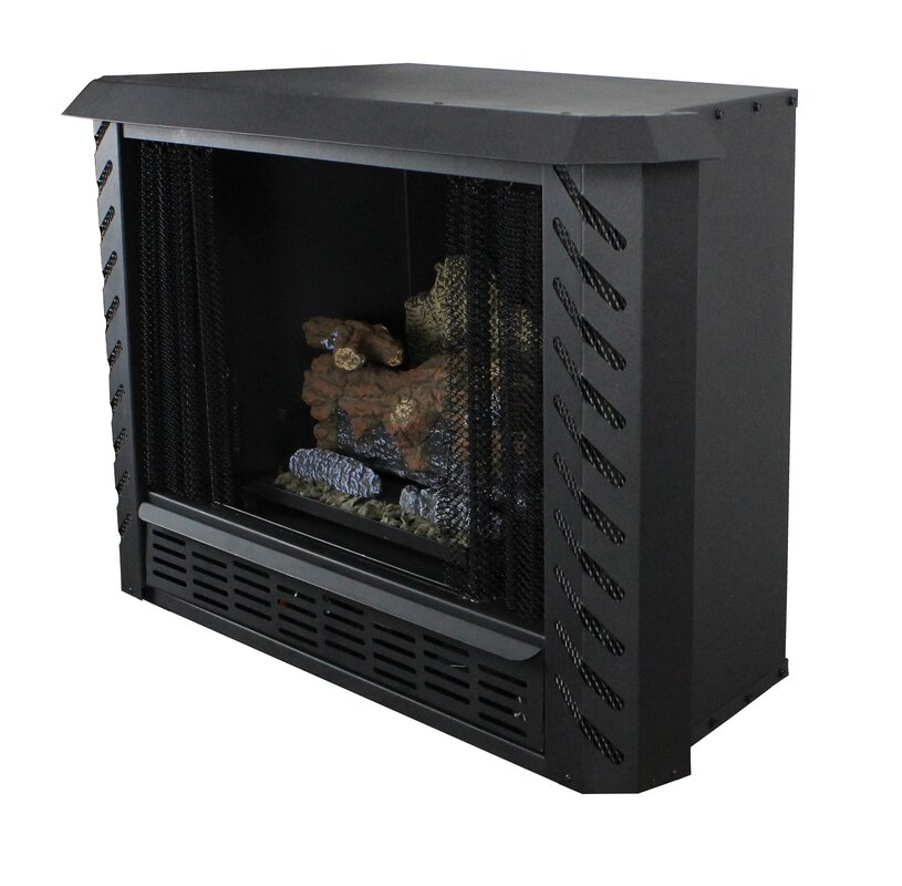 Ashley Hearth Vent Free Natural Gas Fireplace Insert & Reviews ...