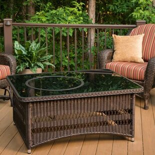 Bayou Breeze Laforce Coffee Table with Fire Pit Table