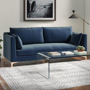 Modern Contemporary Royal Blue Sofa Allmodern