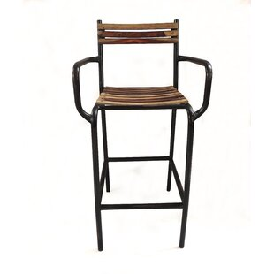 Ripon Iron 41 Bar Stool by Williston Forge