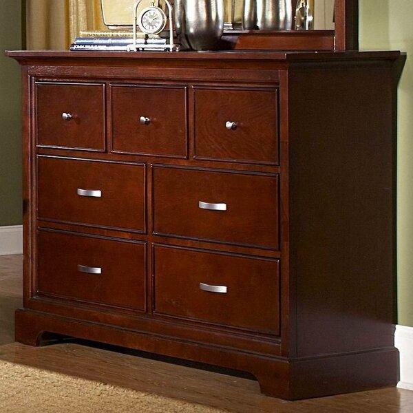 Dark Cherry Wood Dresser | Wayfair