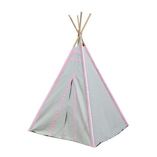 Stripes Kid Play Teepee with Carrying Bag by Heritage Kids