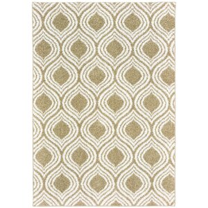 Nannie Beige/White Area Rug