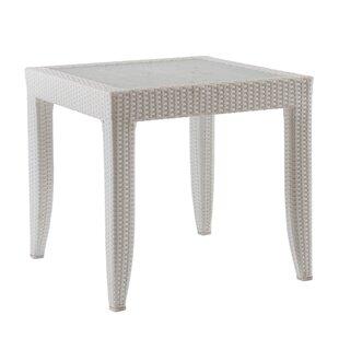 Mykonos Wicker Rattan Side Table