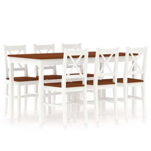 Mcleod Dining Set With 6 Chairs By August Grove