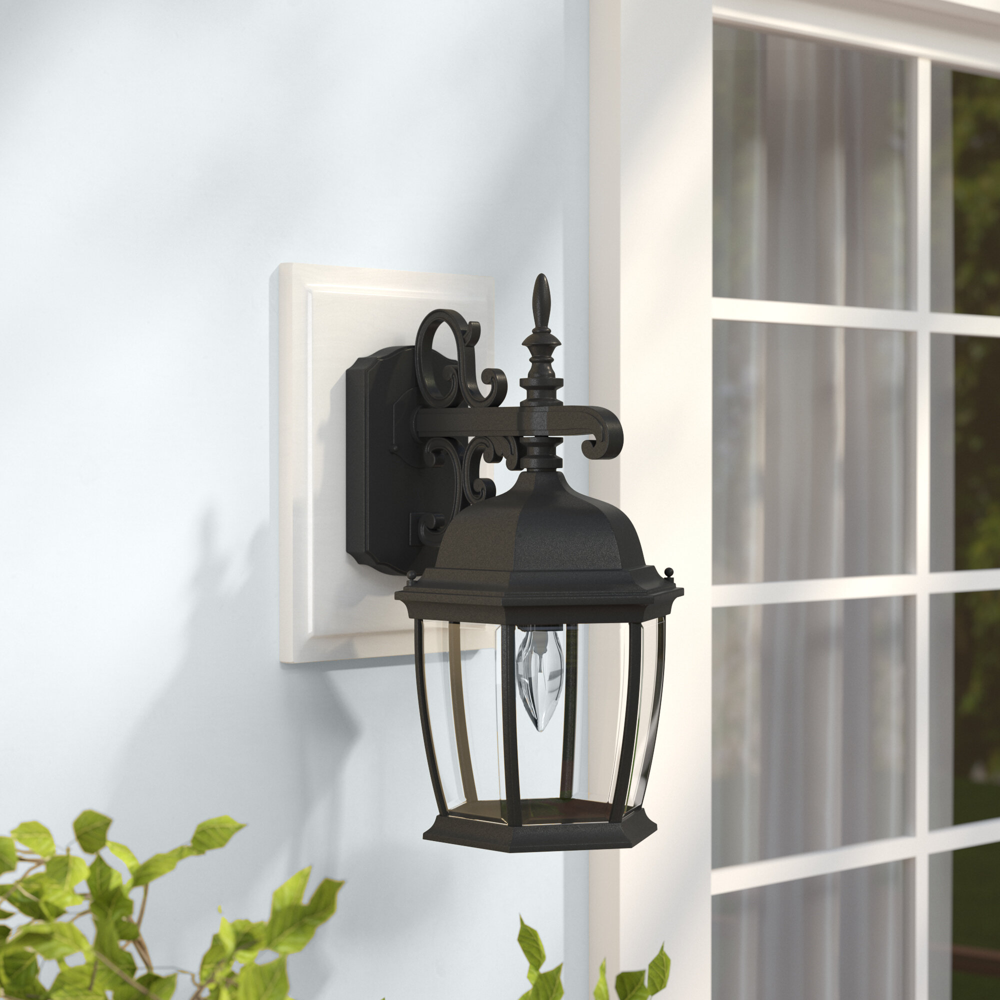 Twigg Traditional Outdoor Wall Lantern