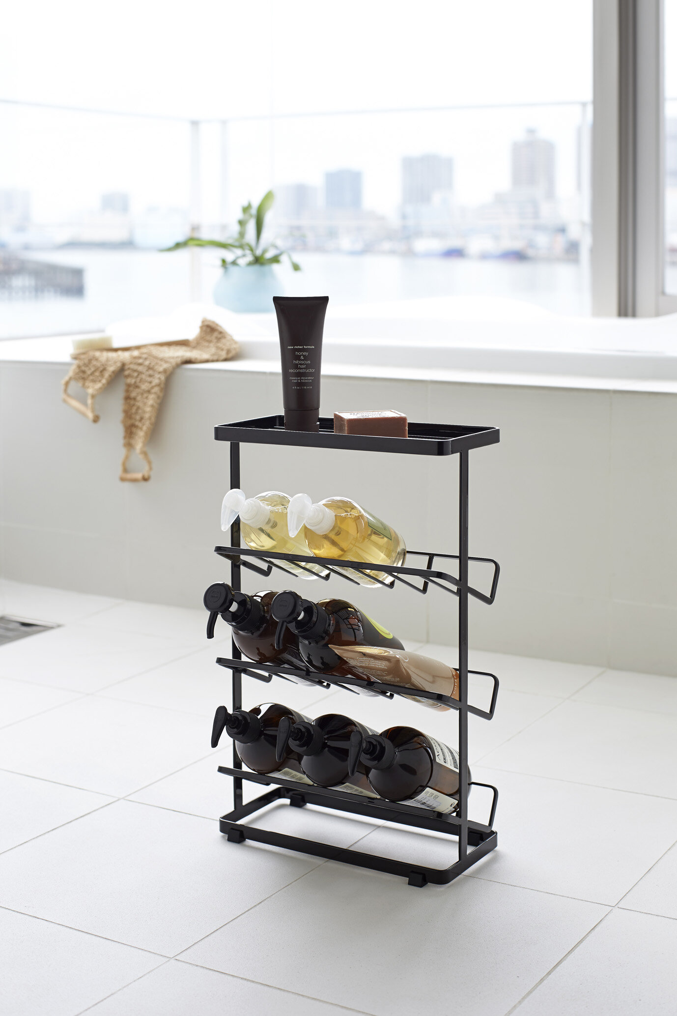 Rebrilliant Canel Free Standing Shower Caddy | Wayfair