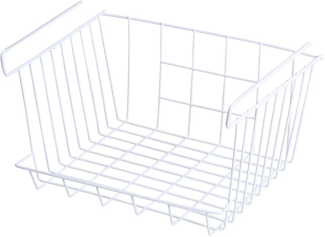 Under Shelf Storage Organizer Basket