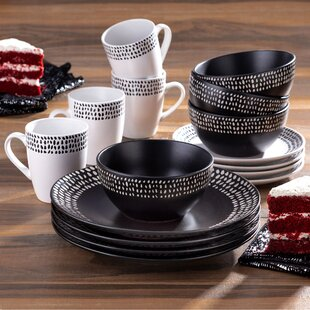 Hitz 16 Piece Dinnerware Set, Service for 4