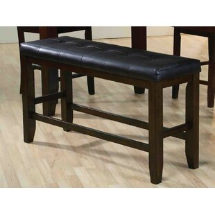 Red Barrel Studio Garvin Leather Bench