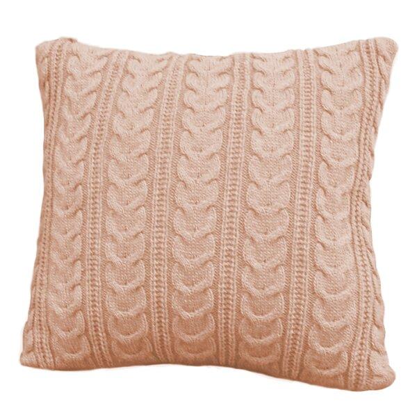 Chunky Knit Cushion Wayfair
