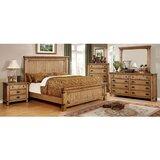Marysville Queen Standard 4 Piece Bedroom Set by Union Rustic