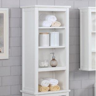 Carruthers 43.18cm X 91.44cm Bathroom Shelf By Blue Elephant