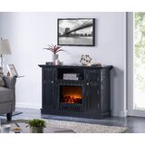 Eiver TV Stand for TVs up to 50 with Electric Fireplace Included by Red Barrel Studio®