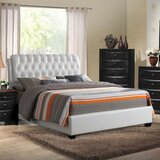 Malaika Tufted Upholstered Standard Bed by Red Barrel Studio®