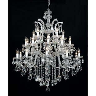 Milan Candle Style Chandelier by House of Hampton