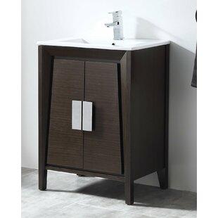 Deluca 24 Single Bathroom Vanity Set By Orren Ellis