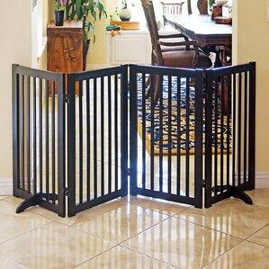 Freestanding Wood Pet Gate