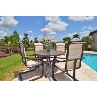 Outdoor Masterpiece Palms 5 Piece Dining ..