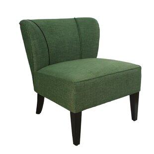 Alcott Hill Geraldine Leisure Linen Slipper Chair