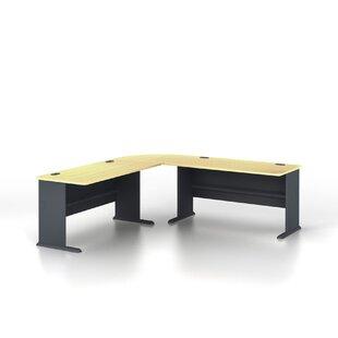 Bush Business Furniture Series A 3 Piece L-Shaped Desk Office Suite