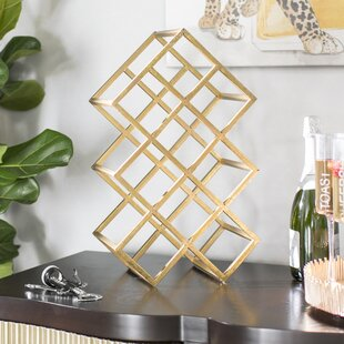 Wayde 9 Bottle Tabletop Wine Bottle Rack