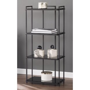 Spring Street 4-Tier Storage Shelves Etagere Bookcase by Ebern Designs